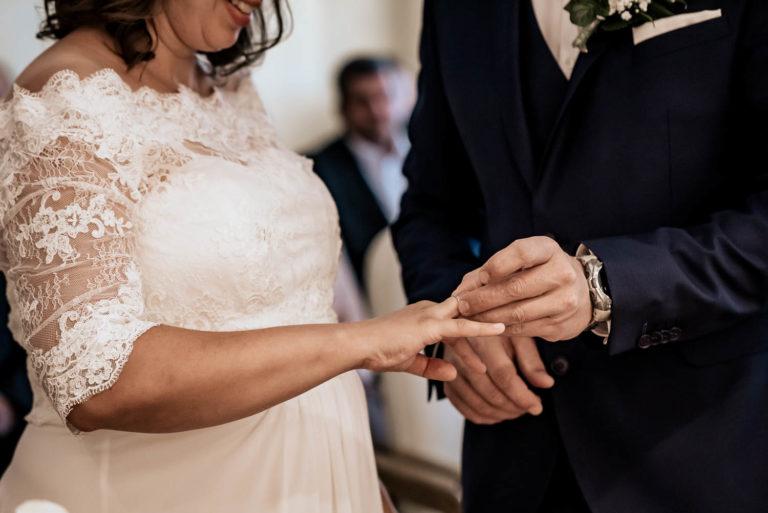 Braut und Bräutigam in Oberfranken
