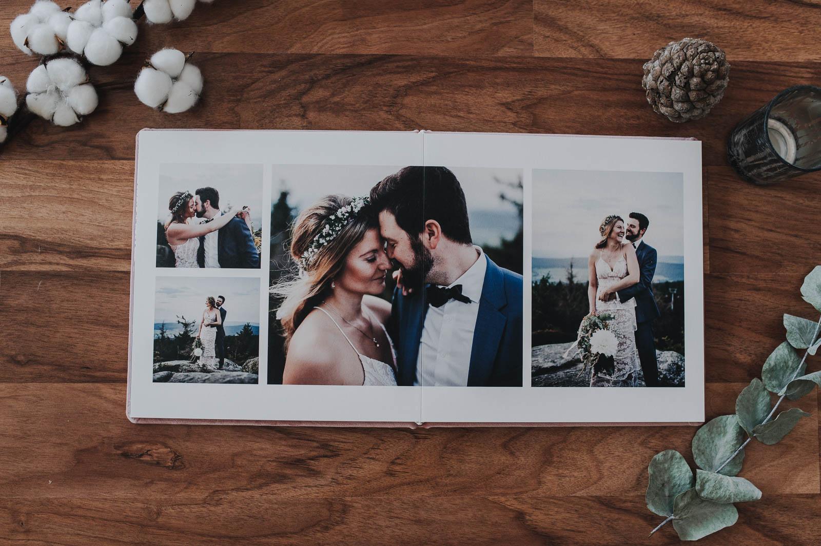 Hochzeitsalbum lovelace photography